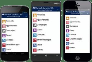 Dynamics CRM Mobile 2013